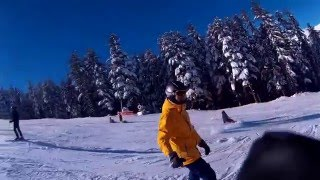 Первая каталка в 2016 году в Банско. На горе!(Видео от 14 января. Лучше поздно, чем никогда!) Партнер видео: магазин для экстремалов: https://justx3m.ru/, 2016-01-26T21:44:14.000Z)