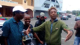 "BLOT AKA Grenade ""Freestyle"" @Durban Chillspot [January 2018] Zimdancehall"
