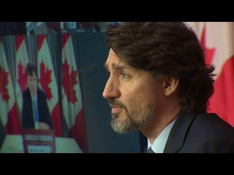 PM Justin Trudeau announces accelerated Pfizer COVID-19 vaccine delivery schedule – March 12, 2021