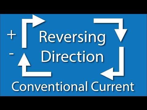 Conventional vs Electron Flow Current Flow