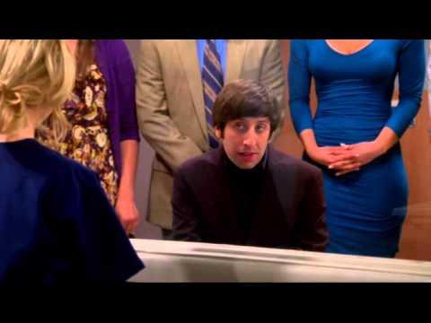 The Big Bang Theory - Howard canta