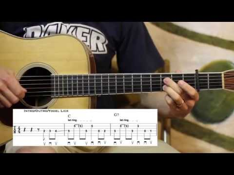 Peach Picking Time in Georgia- Doc Watson Guitar Solo Lesson
