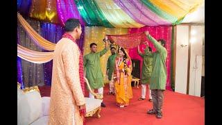 Holud dance of Anika and Sadiq