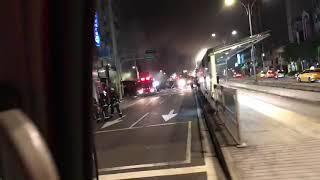 5月22號南京東路四段火警行車記錄