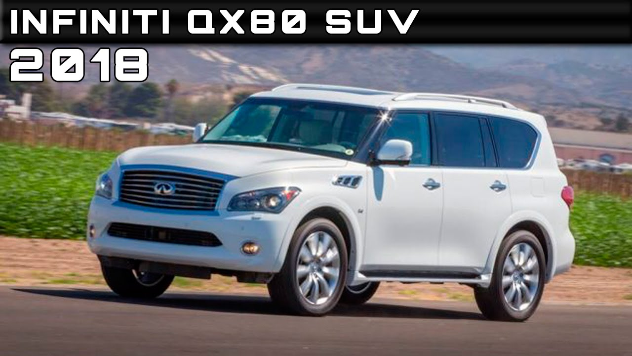 2018 Infiniti QX80 SUV Review Rendered Price Specs Release ...