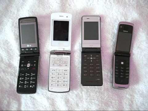 Hot flip phone LG KF300 KF350 Sony Ericsson Z770i Nokia 6600 Fold
