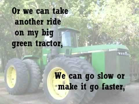 Jason Aldean - Big Green Tractor with lyrics