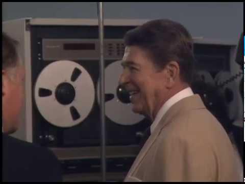 President Reagan's Trip to Melbourne, Florida on June 22, 1987