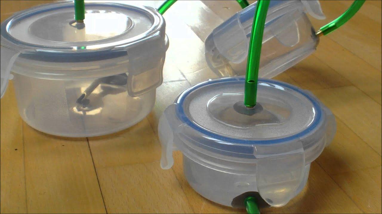 Self Made Canister Filter External For An Aquarium Selbstgebauter Aquarienfilter You