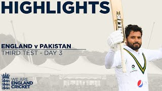 Day 3 Highlights | Anderson Takes 5 Despite Azhar Ali Brilliance | England v Pakistan 3rd Test 2020