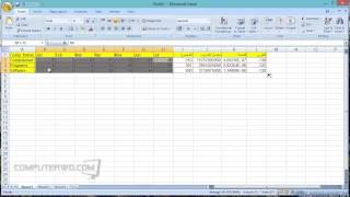 استخدام الاكسيل Excel كالمحترفين في 20 دقيقة فقط