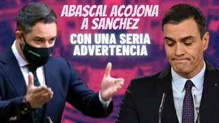 El AVISO de ABASCAL que ha ACOJONADO a SÁNCHEZ tras sus AMENAZAS a VOX durante la campaña madrileña