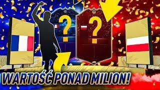 O M G! TRAFIŁEM KARTĘ o WARTOŚCI PONAD MILIONA COINSÓW! NAJLEPSZY TRAF w FIFA 20 Ultimate Team!