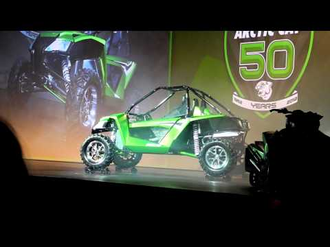 New Arctic Cat SIDE by SIDE Travel Video