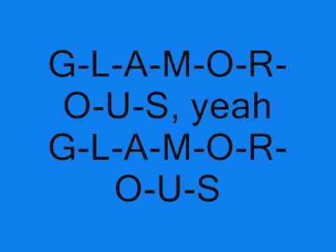 Fergie Ft Ludacris  Glamorous Lyrics  Screen