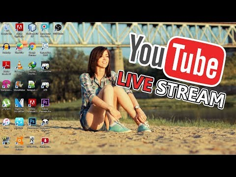 How To Stream 24/7 Live Videos On Youtube Using VLC Player And Obs Studios