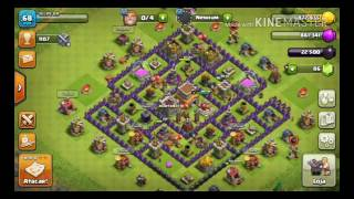 Clash of clans:#primeirovideo