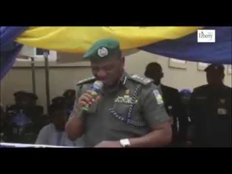 Watch Nigeria s chief of police humiliated in public