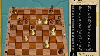 Aidan Lauren Daddy wins against Chessmaster 9000