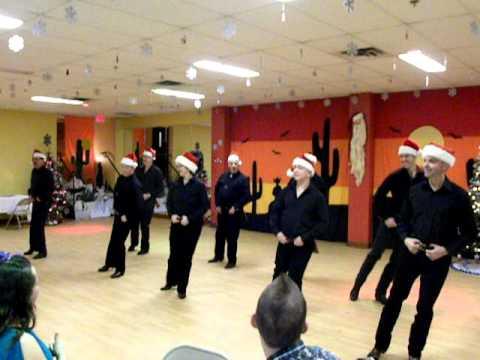 Club Bolo Danse Country Montréal Spectacle de Noël 2010