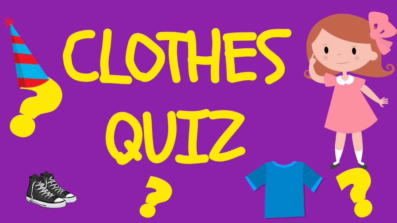 Clothes Quiz - YouTube