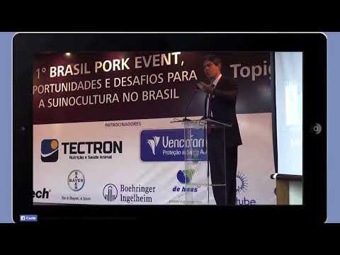Palestra com Ricardo Amorim em Curitiba Perspectivas da suinocultura no Brasil