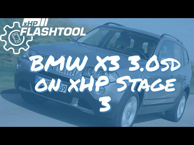 BMW X3 3.0sd on xHP Stage 3