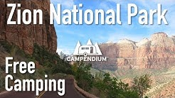 Zion National Park Free Camping!