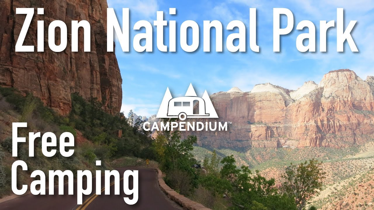 free camping near zion national park