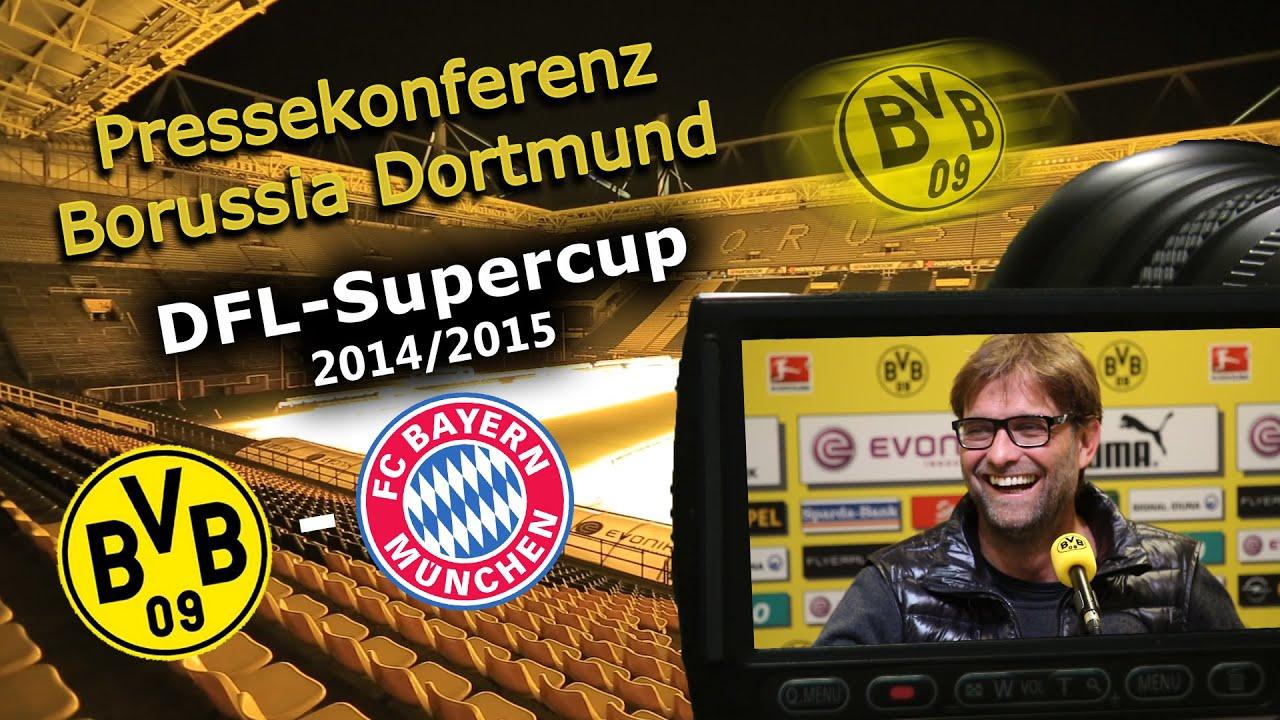 Pressekonferenz zum DFL-Supercup 2014 : BVB - FCB