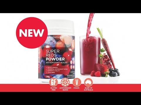 NEW NutriShape Super Reds Powder