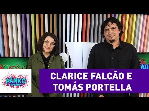 Clarice Falcão e Tomás Portella - Pânico - 06/09/16