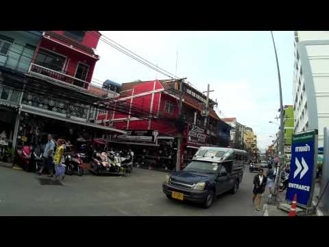 2016 0923 Pattaya Thailand soi honey soi 6 etc sjcam4000 wifi 1080 test