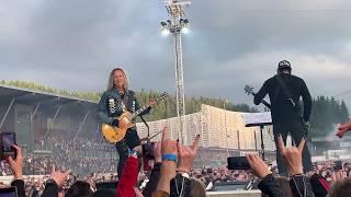 Metallica - Forelska i lærer'n [The Kids cover] [Live] - 7.13.2019 - Granåsen - Trondheim, Norway
