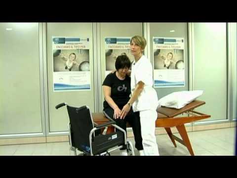 Passaggio letto carrozzina paziente allettato doovi - Mobilizzazione paziente emiplegico letto carrozzina ...