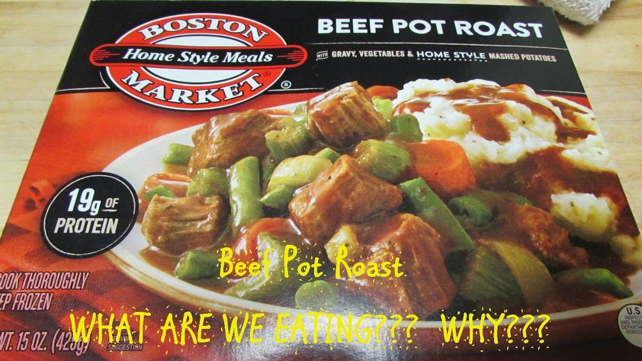 Boston Market Pot Roast Sodium Overload What Are We Eating Why