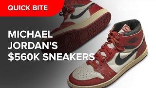 Michael Jordan's 1985 Nike Air sell for $560K at auction