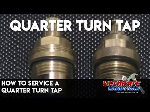 How to service a quarter turn tap