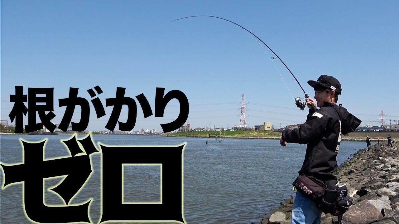 ルアーロストせずに黒鯛(チヌ)を釣る!!