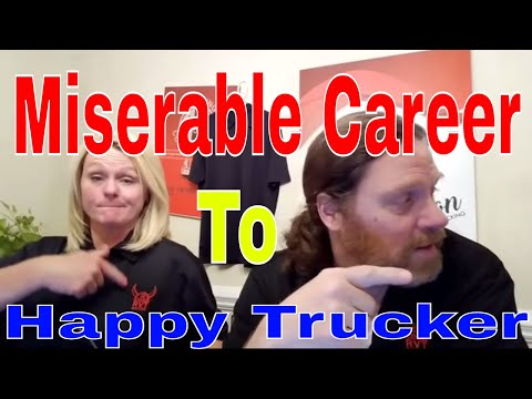 27 Year Job & Miserable To CDL Truck Driving Career | Red Viking Trucker