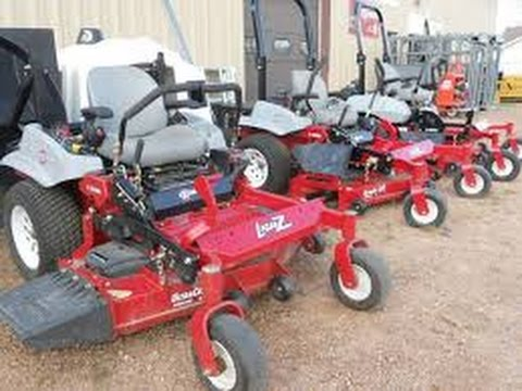equipment needed when starting a lawn care business