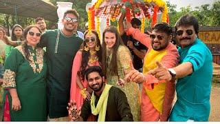 BIG FAT INDIAN WEDDING! Mehndi (Henna) Ceremony \u0026 Party!
