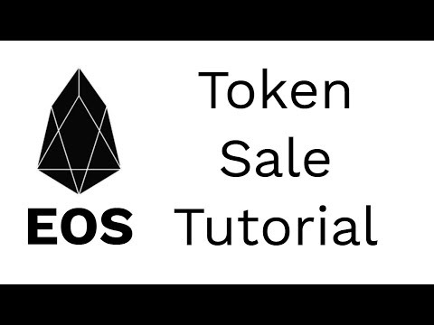 EOS ICO And Token Distribution App Tutorial 🎓