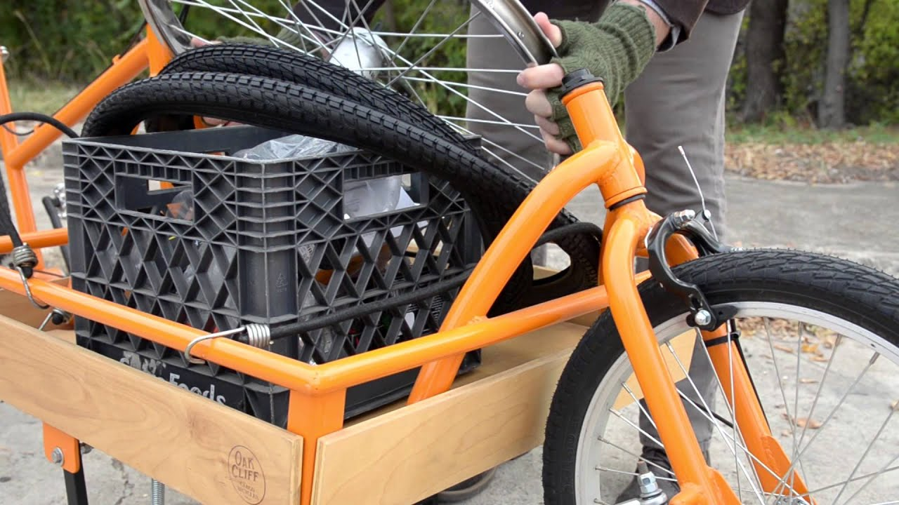 Oak Cliff Cargo Bicycles Kickstarter To Design And Build A New