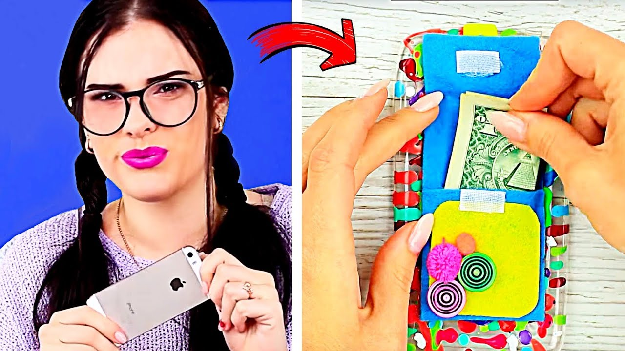 7 diy handyh llen ideen hacks phone case tablet und e. Black Bedroom Furniture Sets. Home Design Ideas