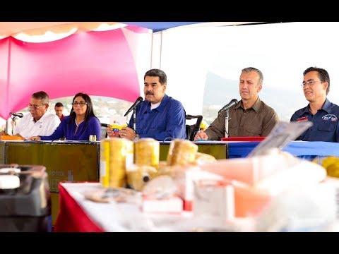 Nicolás Maduro en jornada con pescadores de Vargas, 29 mayo 2019