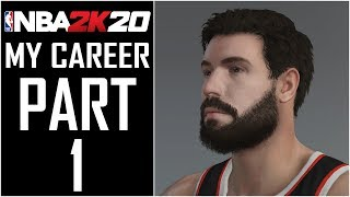 "NBA 2K20 - My Career - Let's Play - Part 1 - ""MyPlayer Creation, Archtype Selection"" 