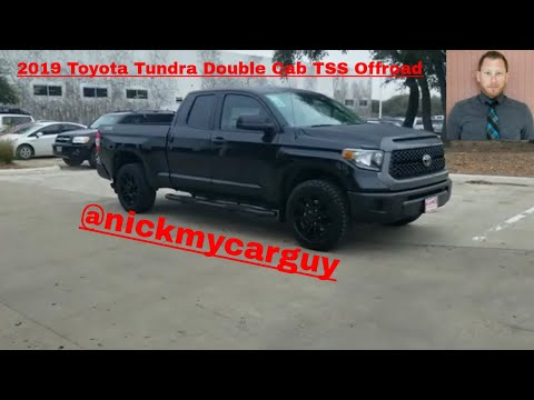 2019 Toyota Tundra Double Cab TSS Walk Around Video