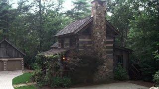 Barnwood Builders - The Carolina Log Home
