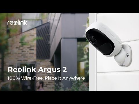 MacRumors Giveaway: Win a Wire-Free Argus 2 Home Security Camera From Reolink